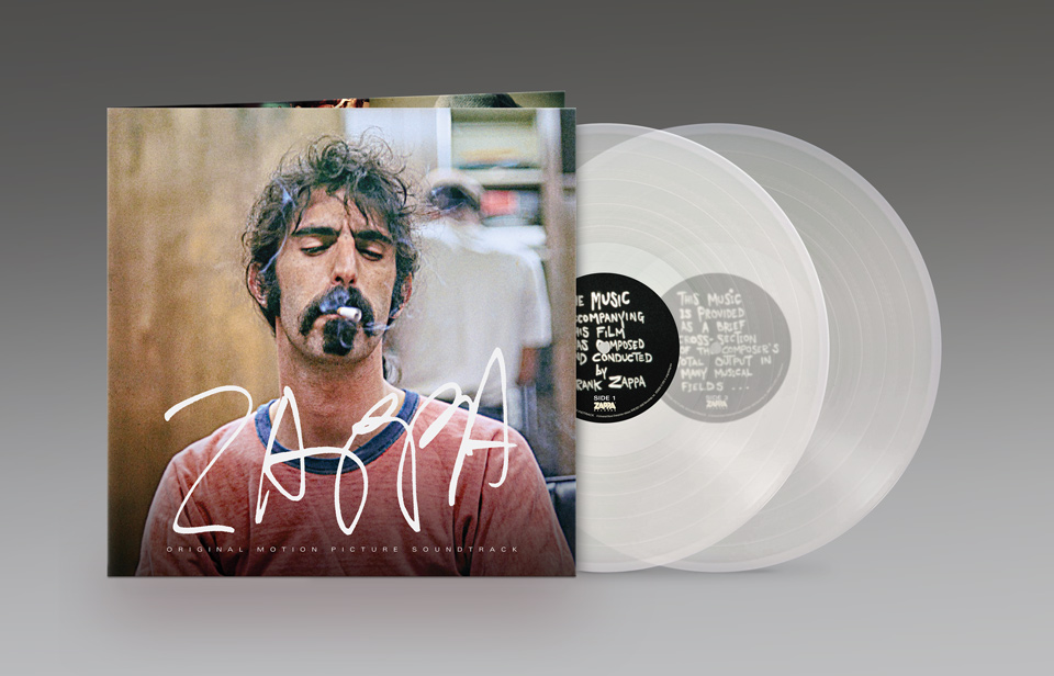 Zappa Soundtrack - 2LP Clear Vinyl