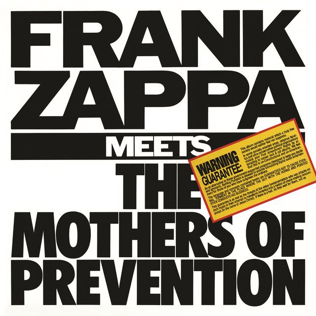 Official Discography   Zappa com