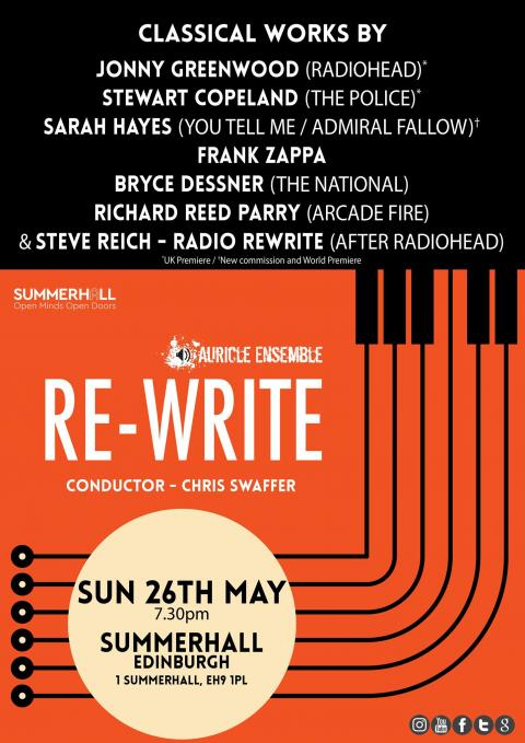 Auricle Ensemble: Re-Write at Summerhall
