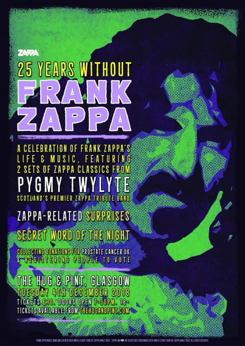 25 Years Without Frank Zappa feat Pygmy Twylyte