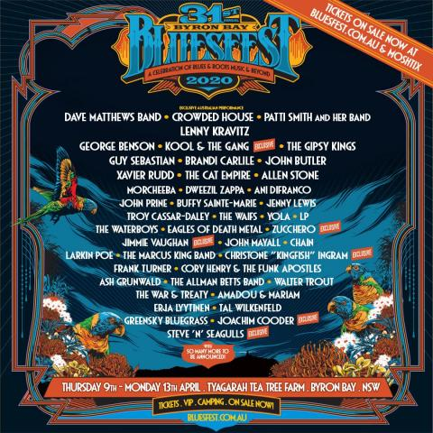 Byron Bay Bluesfest 2020