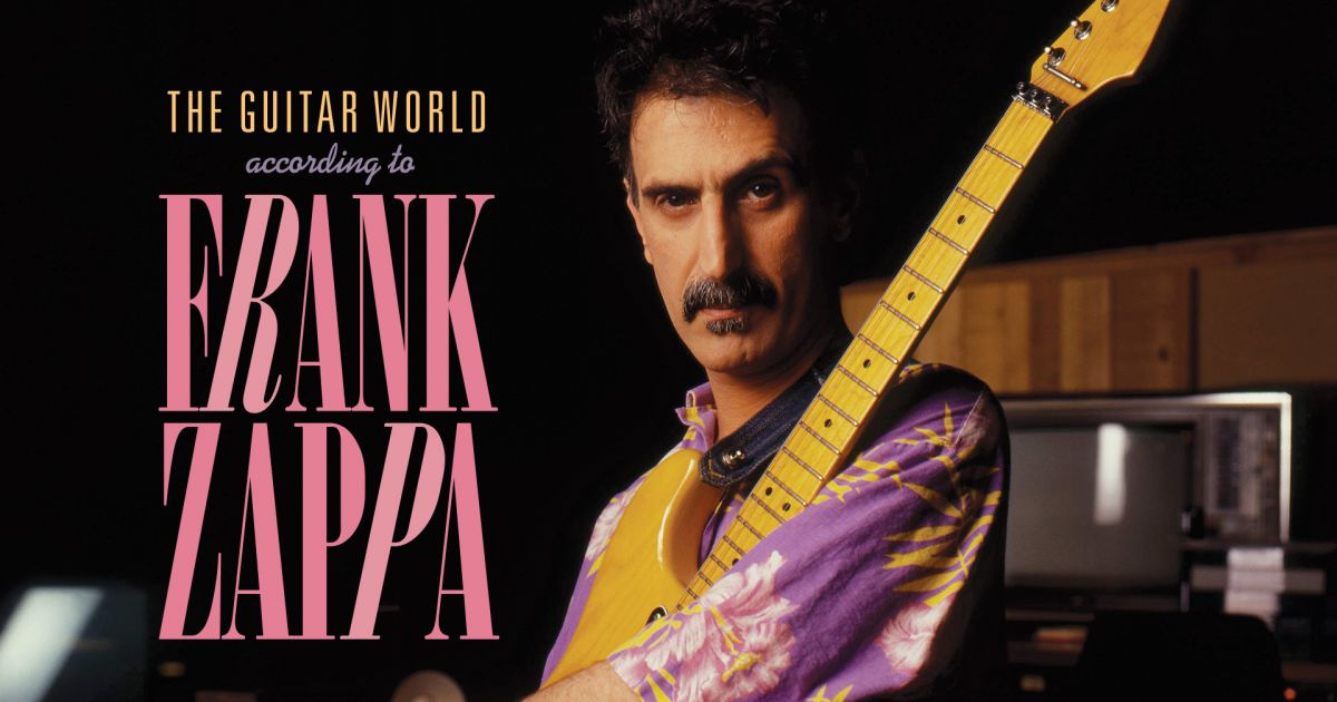 The Guitar World According To Frank Zappa Record Store